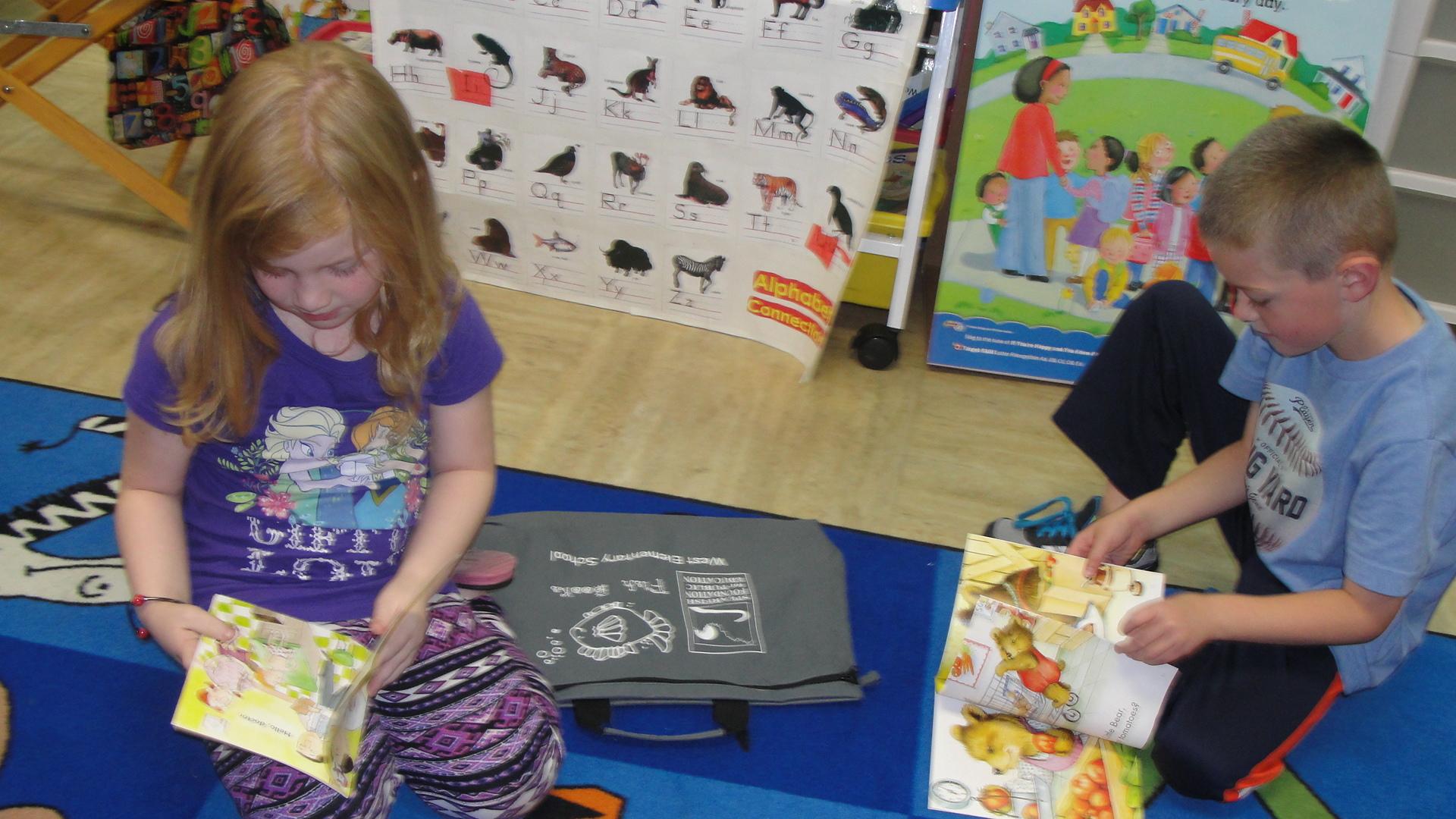 Kindergarten FISH Books