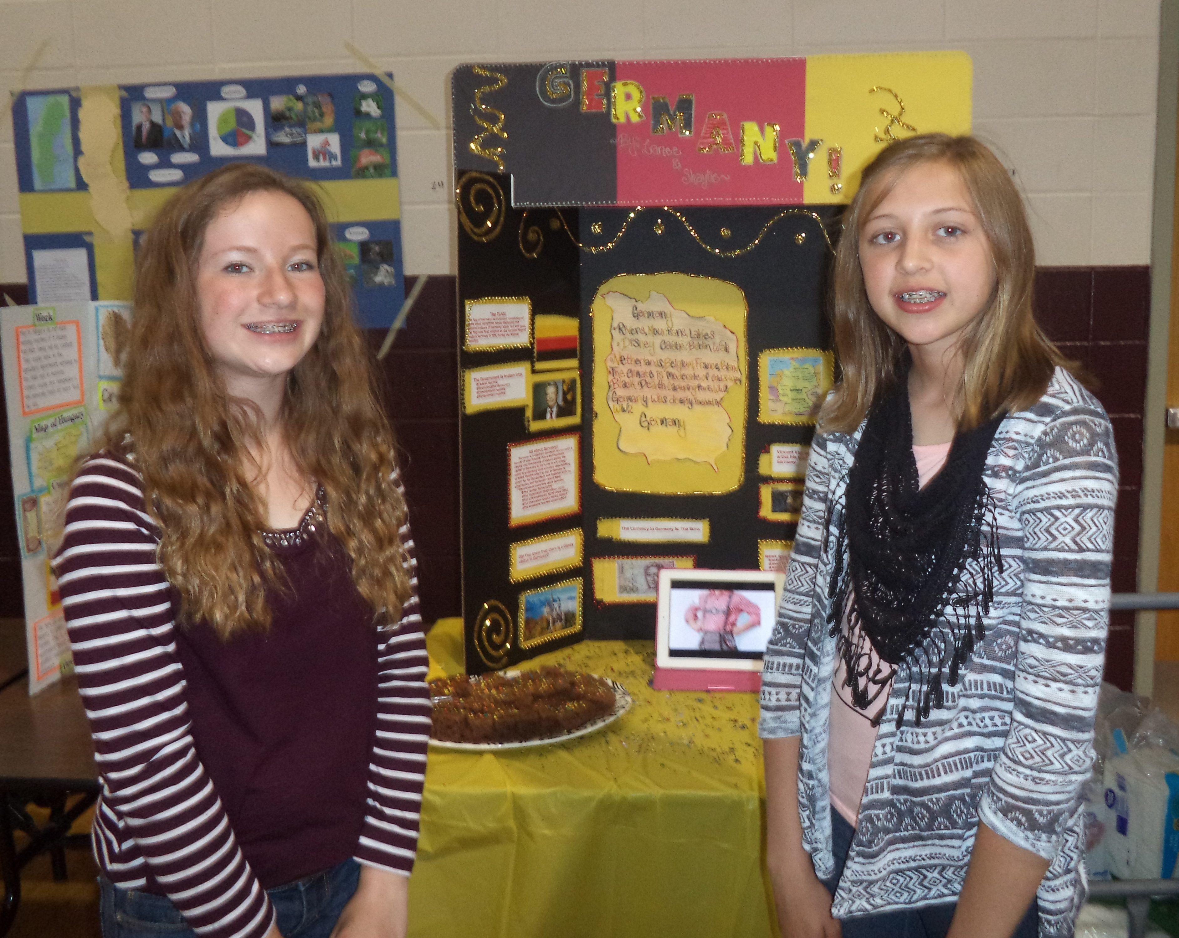 7th Grade Culture Fair