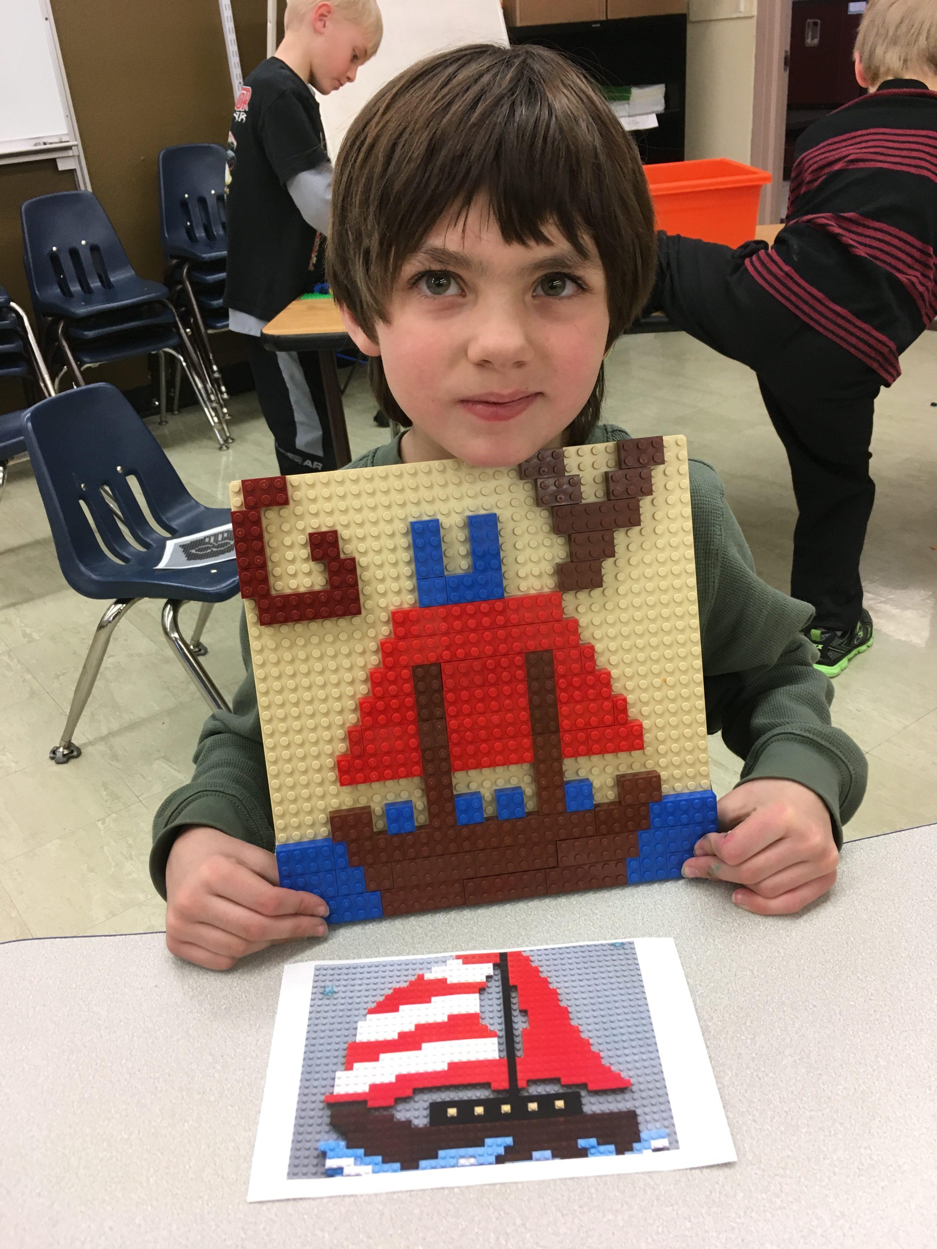First Grade Lego Club